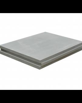 Плита пазогребневая Волма полнотелая 667х500х80 мм