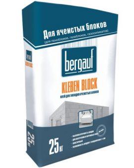 Клей для ячеистых блоков Bergauf Kleben Block