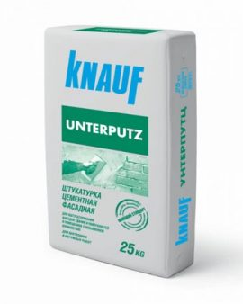 Штукатурка KNAUF Unterputz, 25 кг