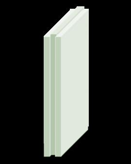 Плита пазогребневая МАГМА полнотелая 667х500х80 мм