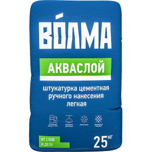 Штукатурка Волма АкваСлой 25 кг