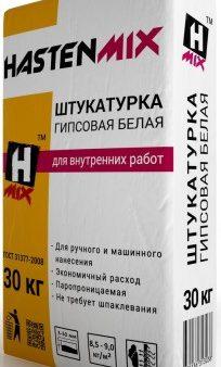 Штукатурка Hasten MIX, 30 кг