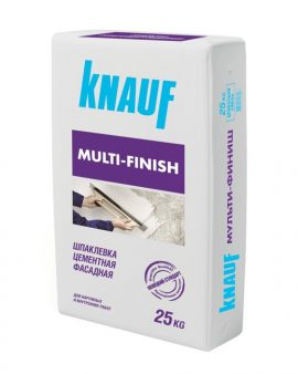 Шпаклевка Knauf Multi Finish 25 кг.