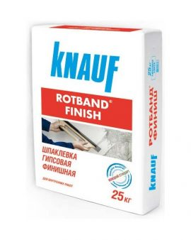 Шпаклевка Knauf Rotband Finish 25 кг