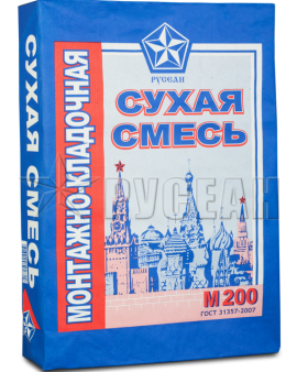 Монтажная смесь Русеан м 200, 40кг